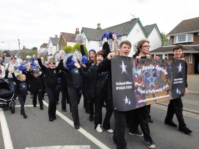 Meopham May Day Parade - The Amelia Appleby School of Performing Arts